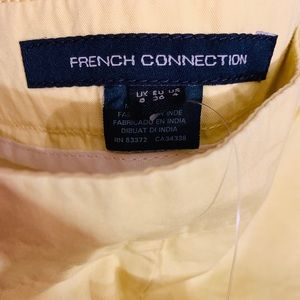 French Connection Shorts - French Connection Wild Chino Cotton Short | Size 4